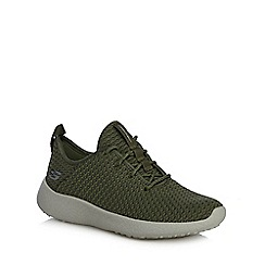 Skechers - Khaki 'Burst city scene' trainers
