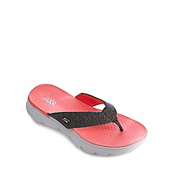 Skechers - Pink 'On The Go' flip flops