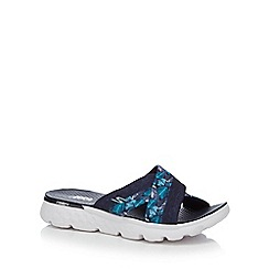 Skechers - Navy 'On The Go' sandals