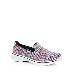 Skechers - Multi-coloured 'Go Walk 4 Merge' trainers