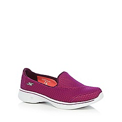 Skechers - Purple 'Go Walk 4 Majestic' trainers