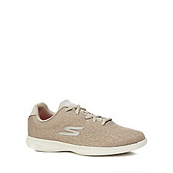 Skechers - Taupe 'Go Step' trainers