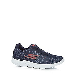 Skechers - Navy 'Go Run' trainers