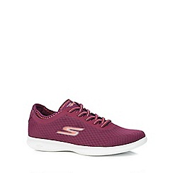 Skechers - Purple 'Go Step Lite Dashing' trainers