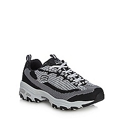 Skechers - Black 'D'lites' trainers