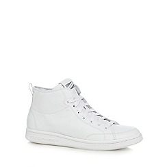 Skechers - White 'Omne Midtown' high top trainers