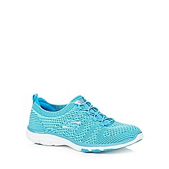 Skechers - Turquoise 'Galaxies' trainers