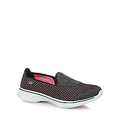 Skechers - Multi-coloured 'Kindle' slip-on trainers