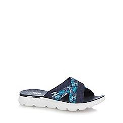 Skechers - Navy 'On The Go' sandals