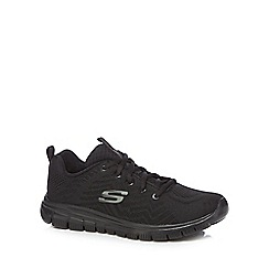 Skechers - Black 'Graceful' trainers