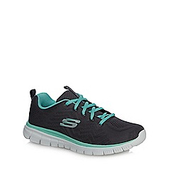 Skechers - Green 'Graceful' trainers