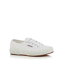 Superga - White canvas 'Cotu Classic' trainers