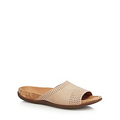 Strive - Tan leather 'Marina' mule sandals