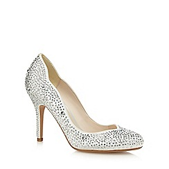 No. 1 Jenny Packham - Ivory 'Prettier' high stiletto heel court shoes