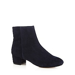 J by Jasper Conran - Blue 'Jasmin' leather ankle boots