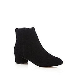 J by Jasper Conran - Black 'Jasmin' leather ankle boots