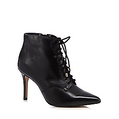 J by Jasper Conran - Black lace up high ankle boots