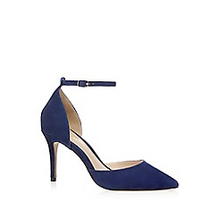 J by Jasper Conran - Blue 'Jardine' high heel court shoes