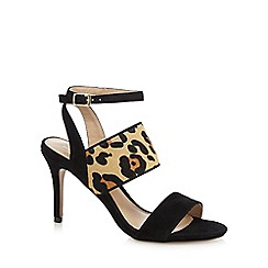 J by Jasper Conran - Black 'Joanna' high sandals