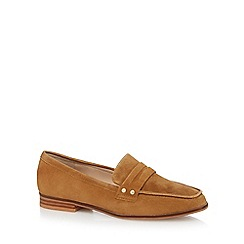 J by Jasper Conran - Tan suede loafers
