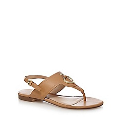J by Jasper Conran - Tan leather sandals