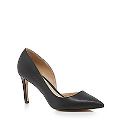 J by Jasper Conran - Black 'Jade' high stiletto pointed shoes