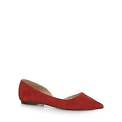 J by Jasper Conran - Red 'Jackie' pointed shoes