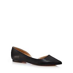 J by Jasper Conran - Black 'Jackie' toe shoes