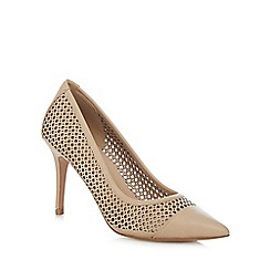 J by Jasper Conran - Light pink leather 'Juanita' high stiletto heel pointed shoes