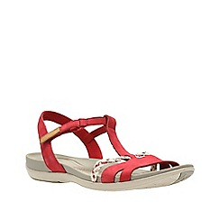 Clarks - Red tealite grace women's sandals