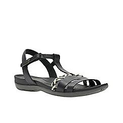 Clarks - Dark grey tealite grace women's sandals