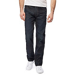 St George by Duffer - Dark blue straight leg jeans