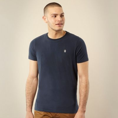St George by Duffer Navy embroidered logo t-shirt product image