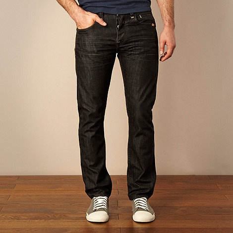 St George by Duffer - Dark grey straight leg jeans
