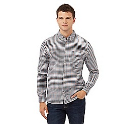 St George by Duffer - Multi-coloured checked print regular fit shirt