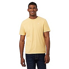 St George by Duffer - Yellow crew neck t-shirt