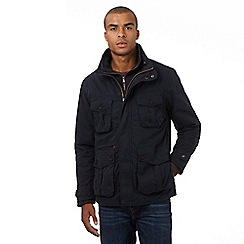 St George by Duffer - Big and tall navy field jacket