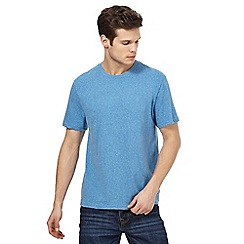 St George by Duffer - Big and tall blue marl t-shirt