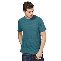St George by Duffer - Turquoise marl t-shirt