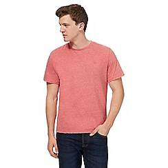St George by Duffer - Big and tall pink marl t-shirt