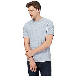 St George by Duffer - Blue marl t-shirt