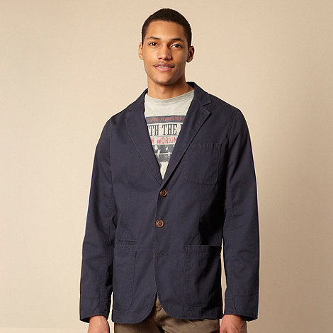 St George by Duffer - Navy lightweight blazer jacket