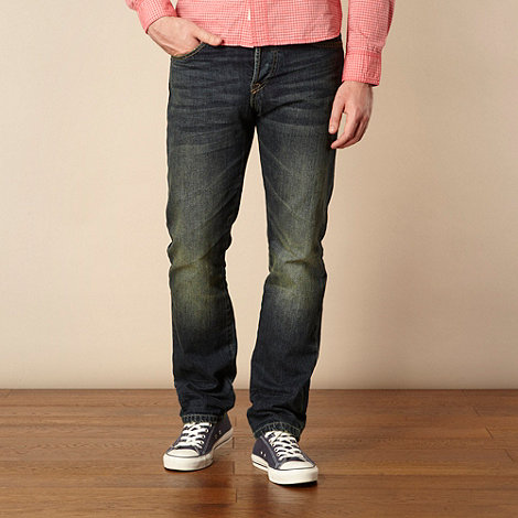 St George by Duffer - Blue straight leg jeans