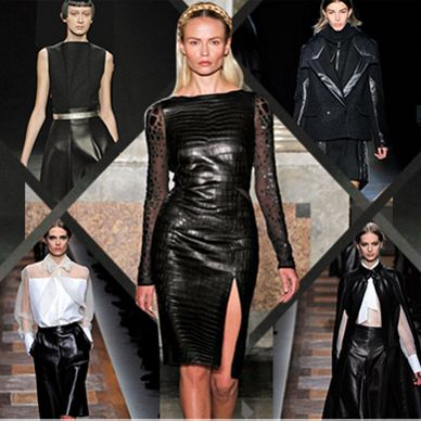 AW14 Style: Women's The Leather Edit
