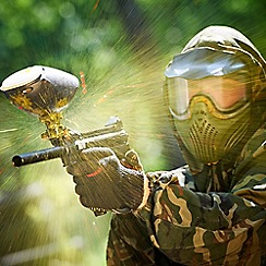 Activity Superstore - Paintball gift experience day for 4