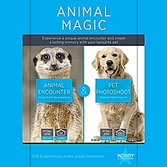 Activity Superstore - Animal Magic gift experience for 2