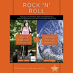 Activity Superstore - Rock 'n Roll! gift experience for 2