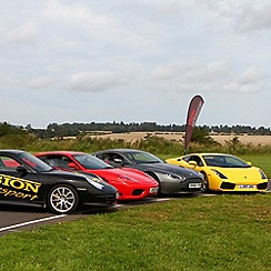 Gift Experiences - Awesome Foursome Supercar Drive