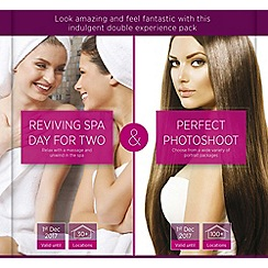 Gift Experiences - Spa & Pamper twin pack