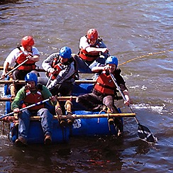 Gift Experiences - Raft Building Experience for Two